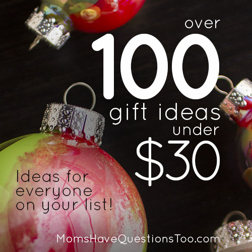 Mom Christmas Gift Ideas  Inexpensive Christmas Gift Ideas Moms Have Questions Too