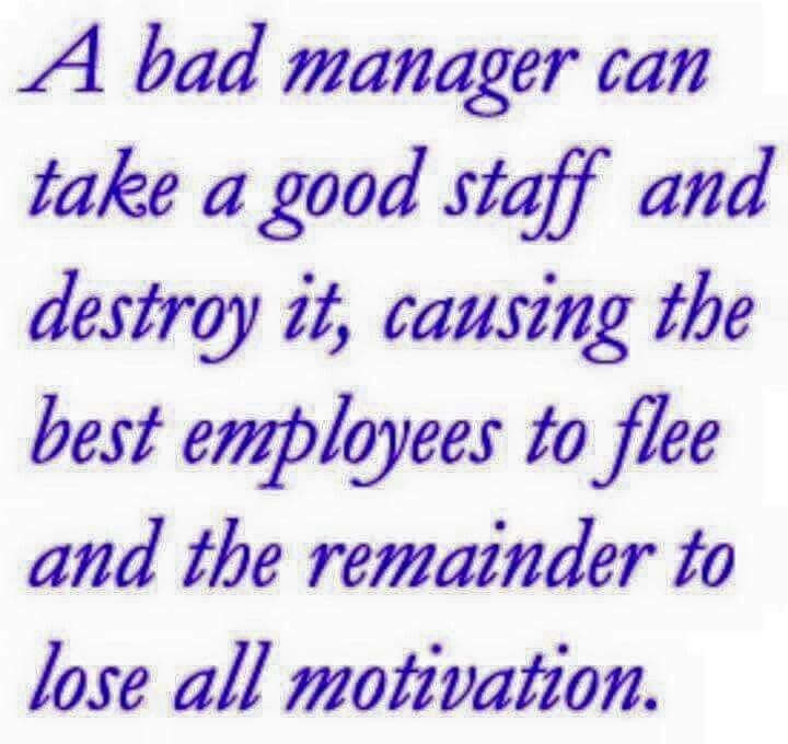 Motivational Quotes For Employees From Managers  Best 25 Bad manager quotes ideas on Pinterest