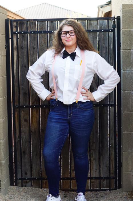 Nerd Costume DIY  Easy Last Minute Teen DIY Halloween Costumes Clever Pink