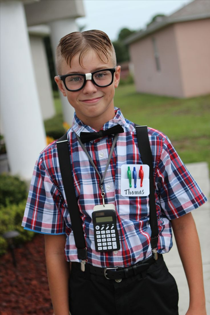 Nerd Costume DIY  The 25 best Teen boy costumes ideas on Pinterest