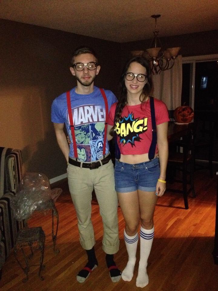 Nerd Costume DIY  DIY ic book nerd costumes suspenders nerd shirts and