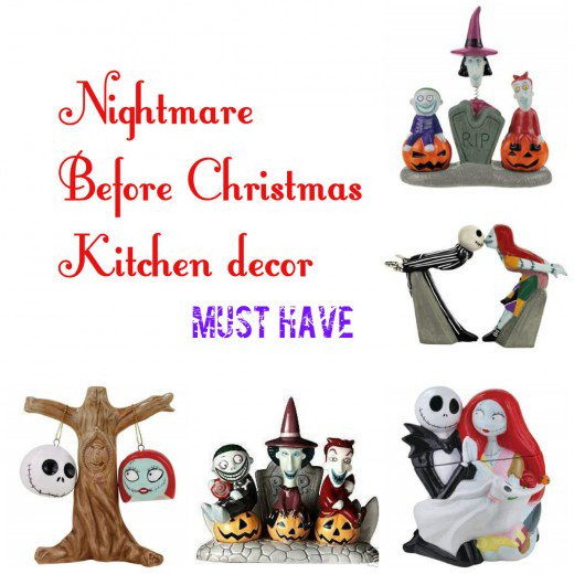 Nightmare Before Christmas Kitchen  Nightmare Before Christmas Kitchen Accessories and Decor