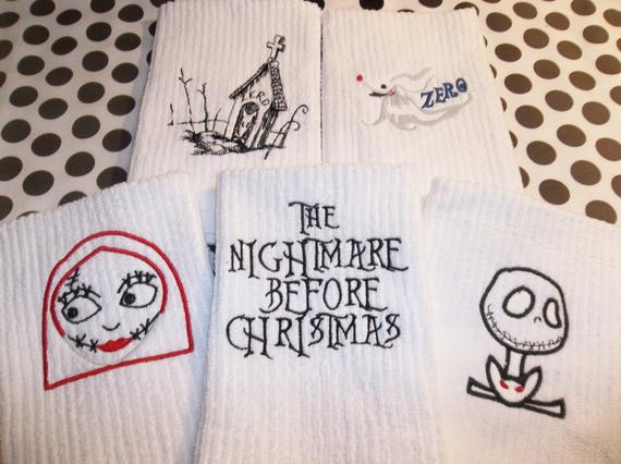 Nightmare Before Christmas Kitchen  5 Nightmare Before Christmas Jack Skellington Sally Zero