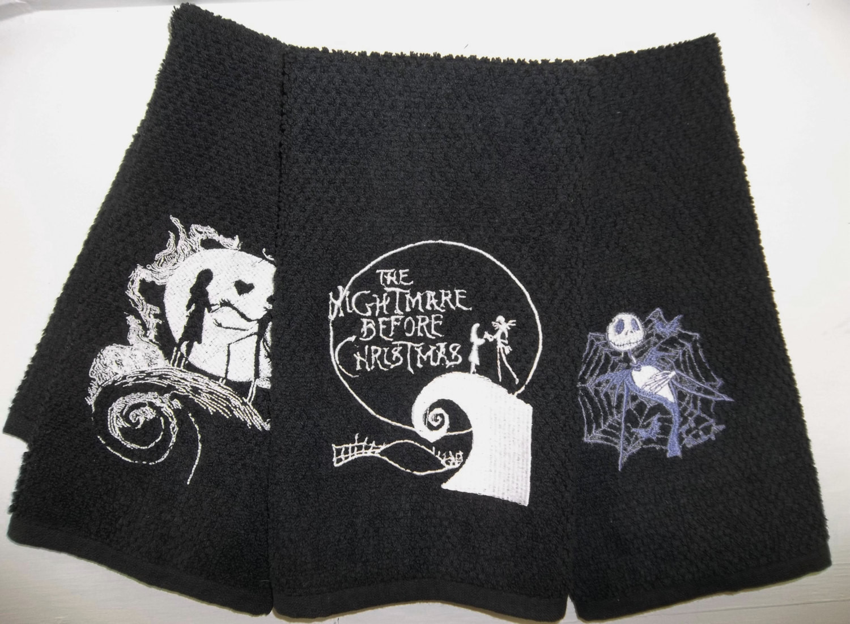 Nightmare Before Christmas Kitchen  Nightmare Before Christmas Kitchen Hand Towels Jack