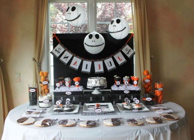 Nightmare Before Christmas Party Ideas  nightmare before christmas party decorations Google