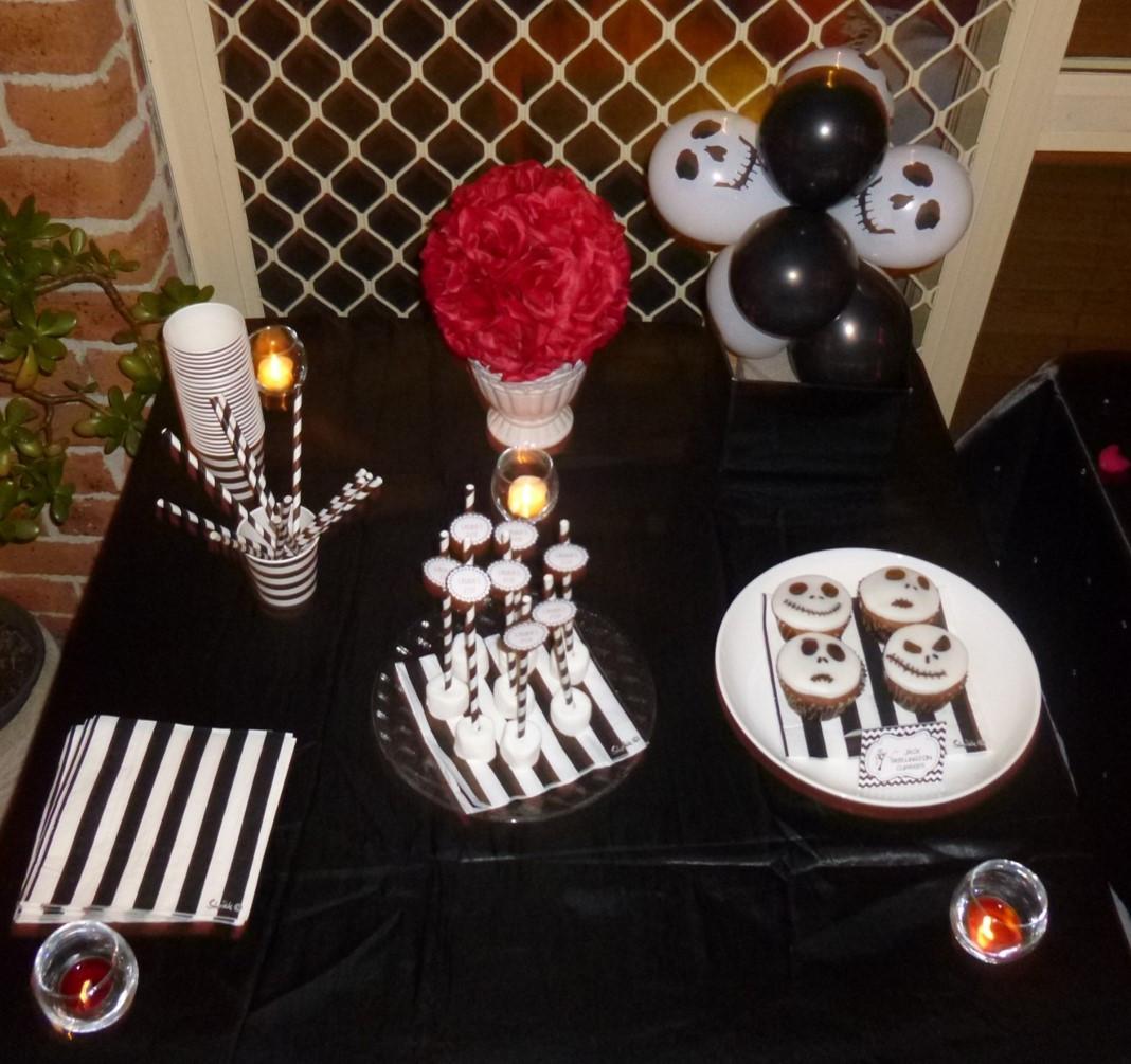 Nightmare Before Christmas Party Ideas  Tim Burton Movies 21st Birthday Alice in Wonderland
