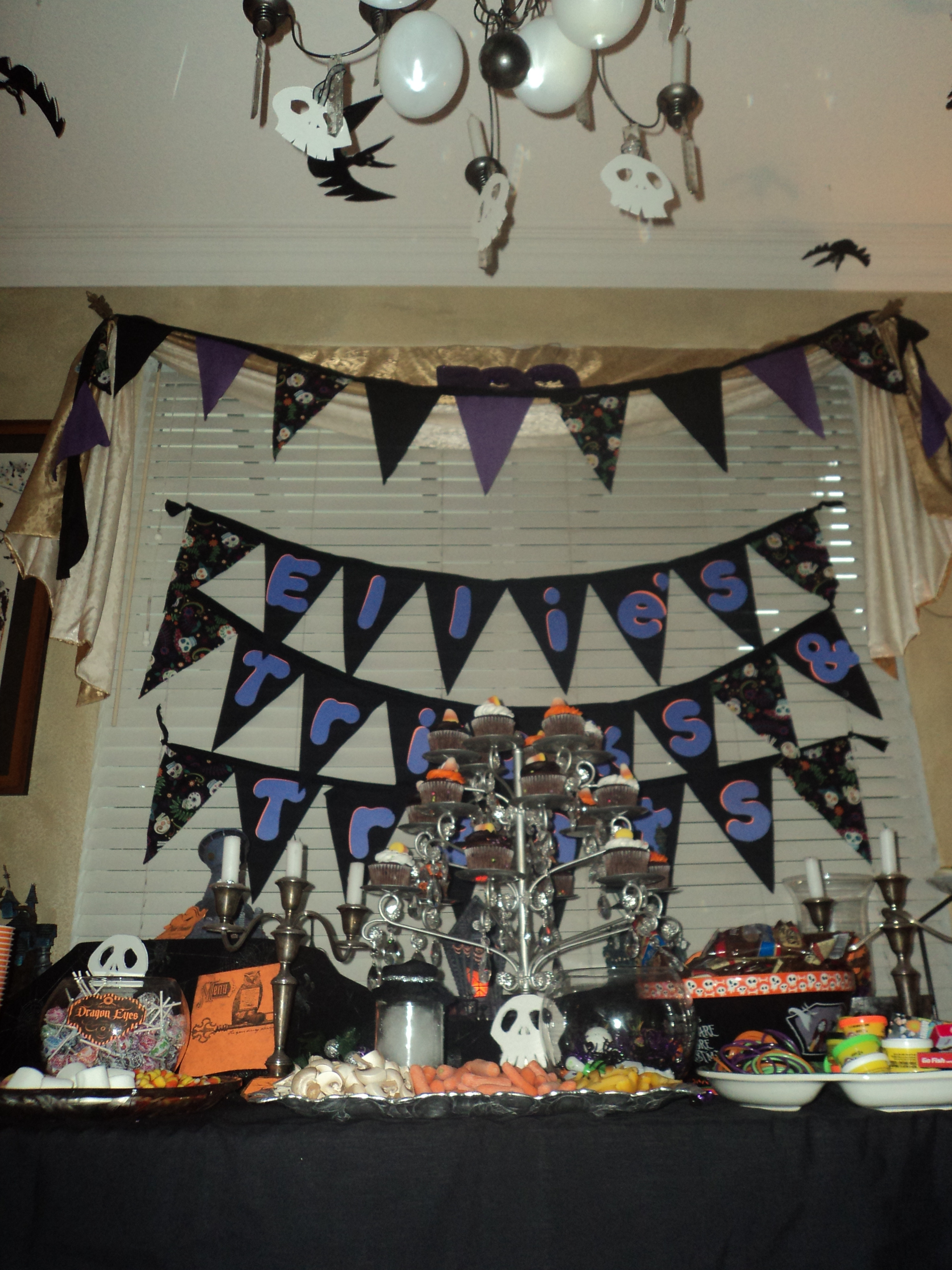 Nightmare Before Christmas Party Ideas  Nightmare Before Christmas Birthday Party – Revisited