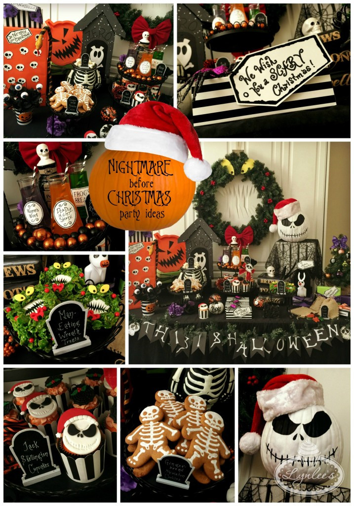 Nightmare Before Christmas Party Ideas  Nightmare Before Christmas Party Ideas — Lynlees