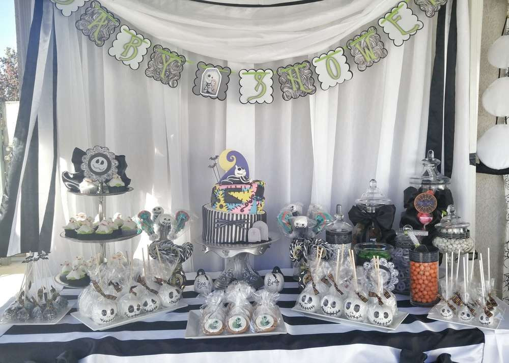 Nightmare Before Christmas Party Ideas  Nightmare Before Christmas Baby Shower Party Ideas