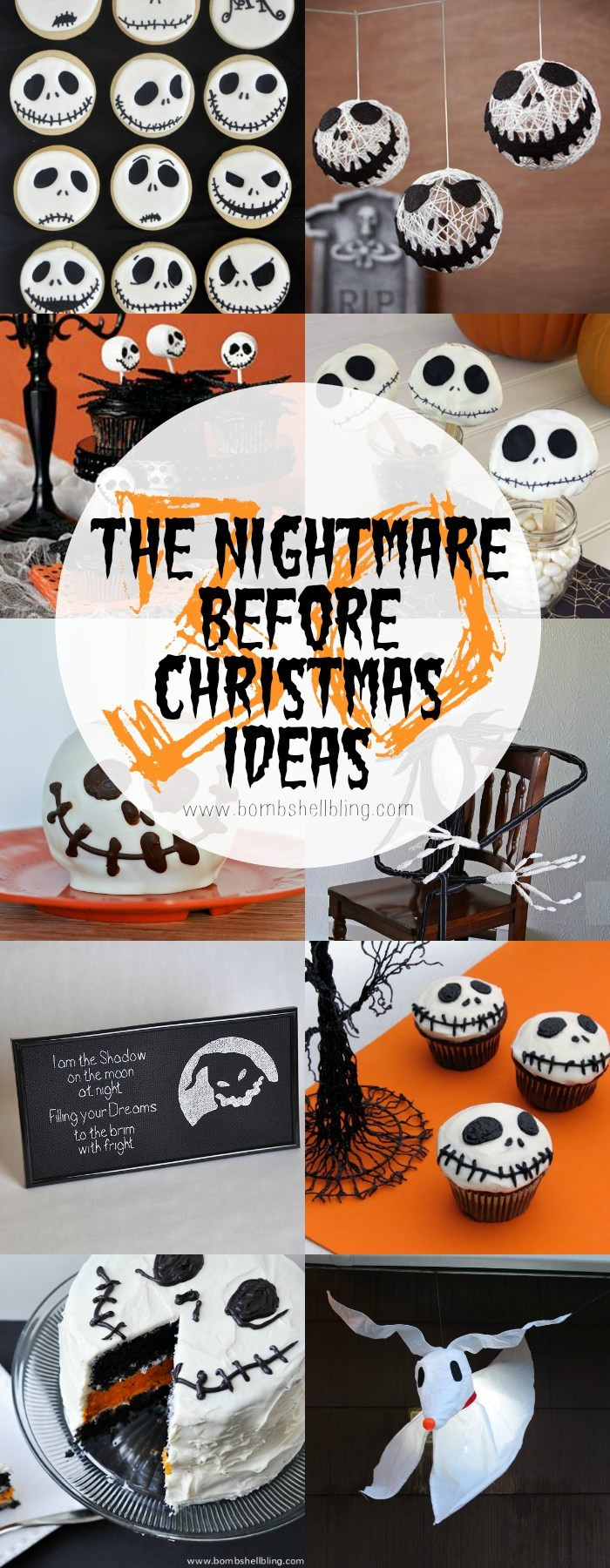 Nightmare Before Christmas Party Ideas  FREE The Nightmare Before Christmas Printable