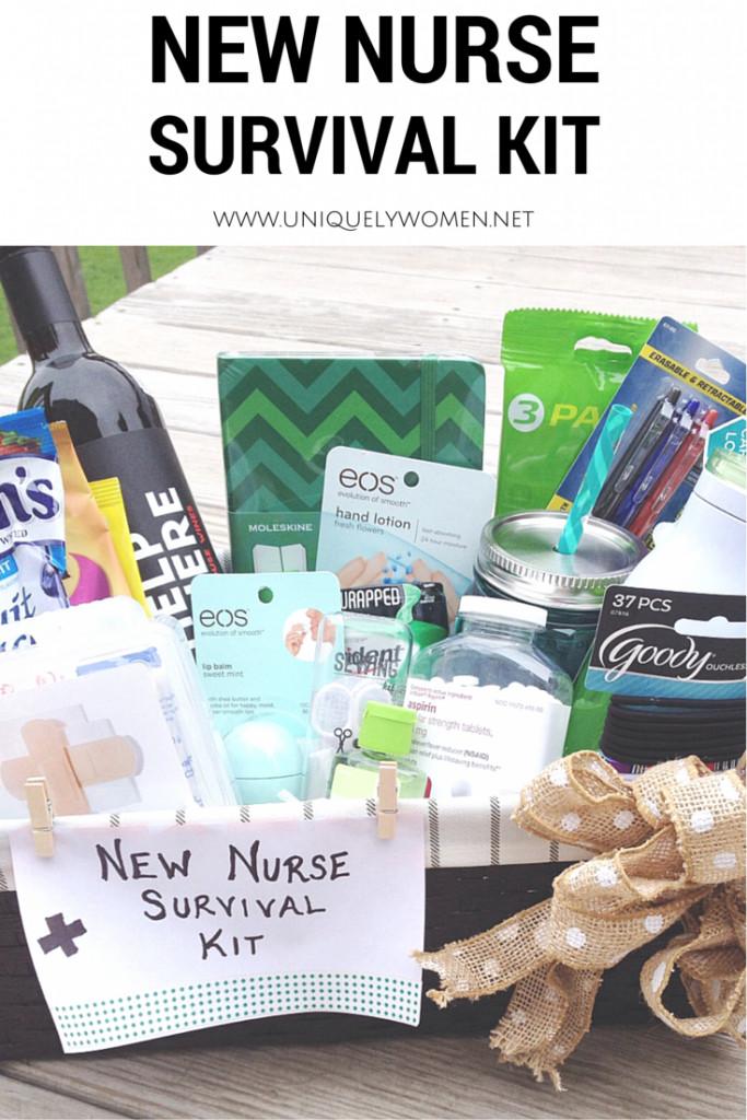 Nursing School Graduation Gift Ideas  Nurse Graduation Gift DIY Gift Basket