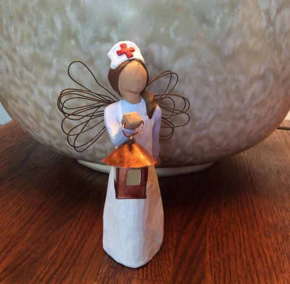 Nursing School Graduation Gift Ideas  Nurse RN Gift Florence Nightingale w Lantern and Silver