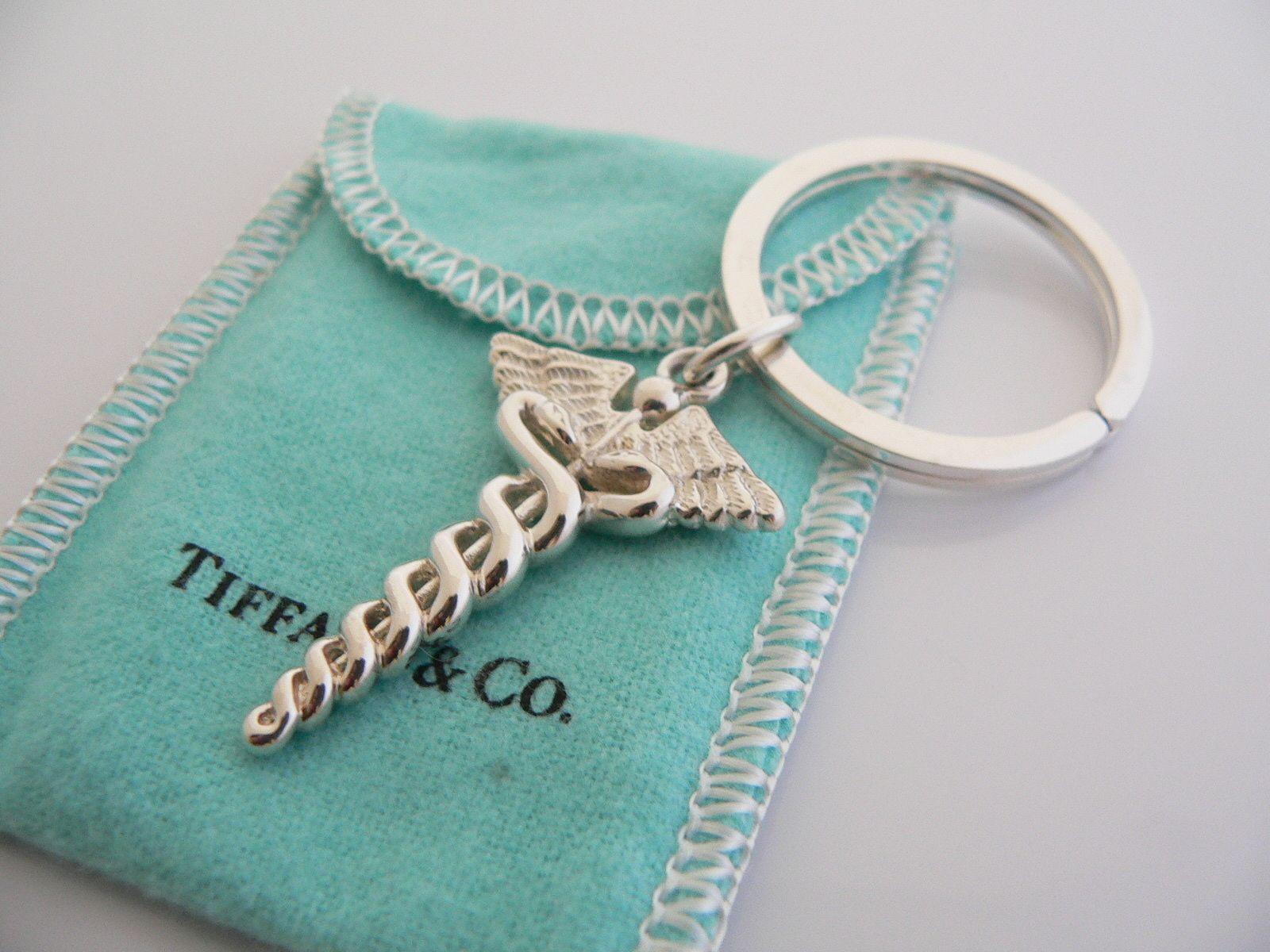 Nursing School Graduation Gift Ideas  Beautiful Tiffany & Co Keychain Great idea for grad
