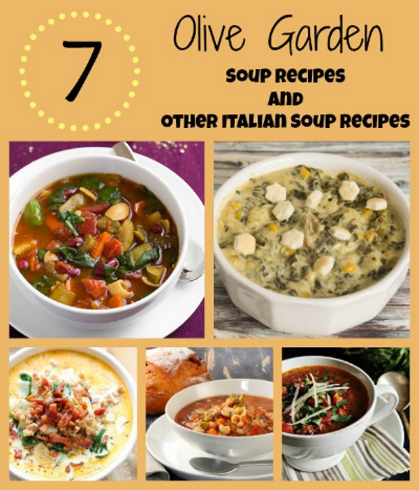 Olive Garden Thanksgiving  8 Olive Garden Soup Recipes