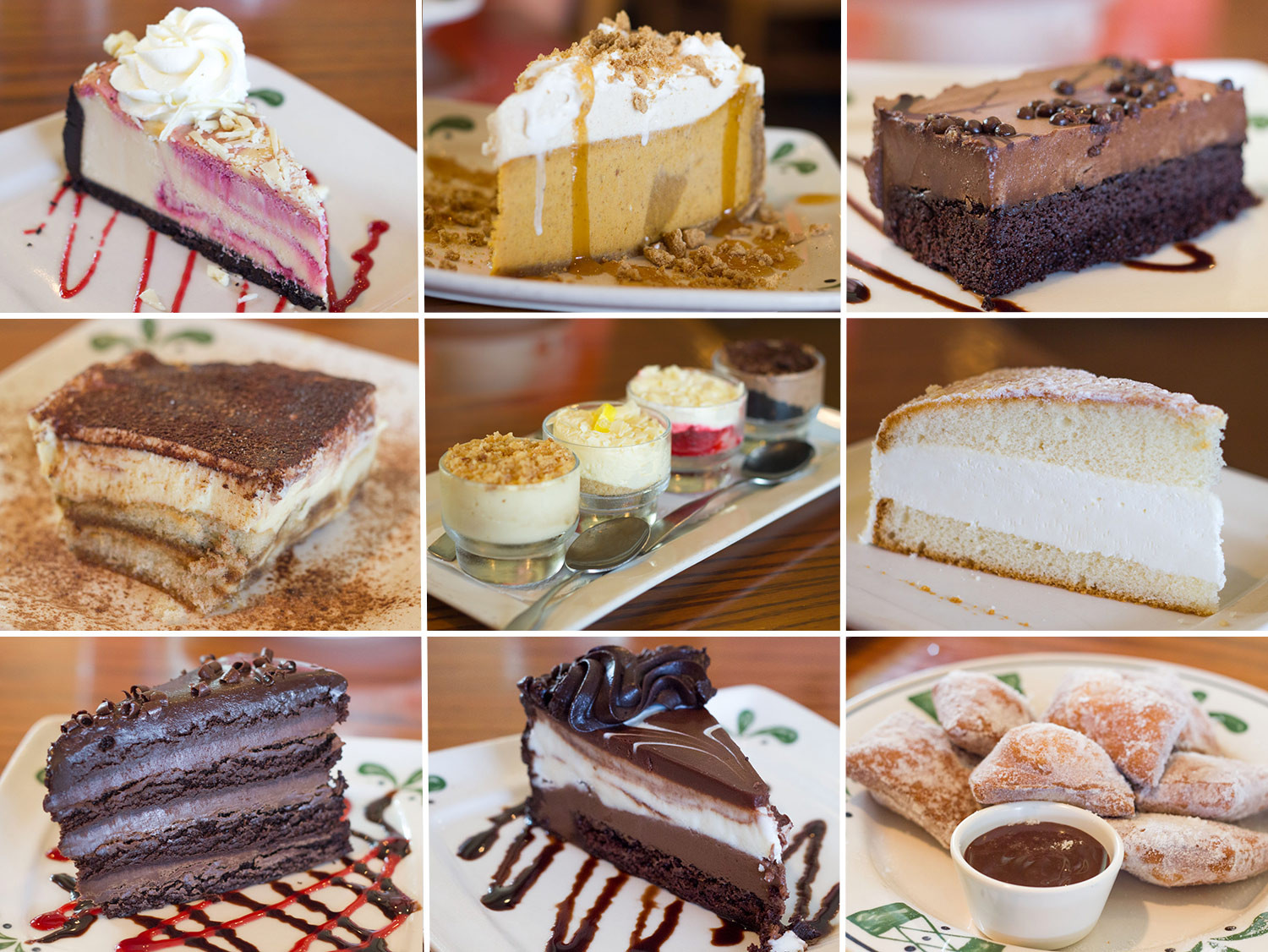 Olive Garden Thanksgiving  Gallery We Try All the Desserts at the Olive Garden