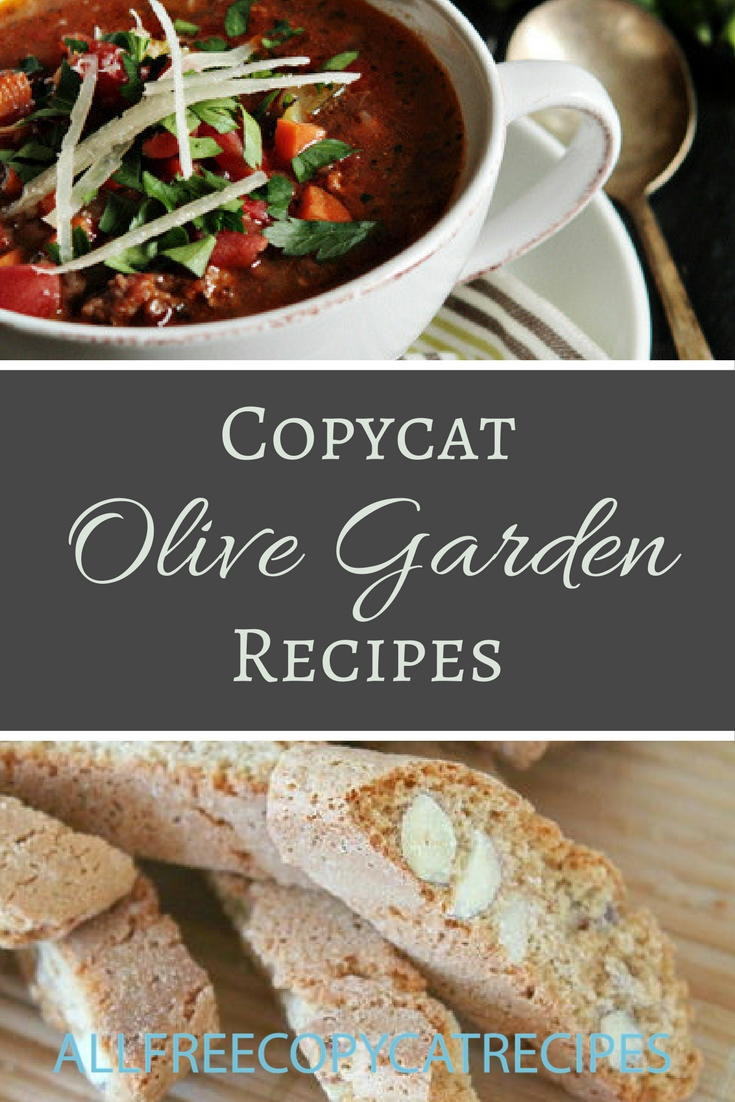 Olive Garden Thanksgiving  30 Olive Garden Copycat Recipes