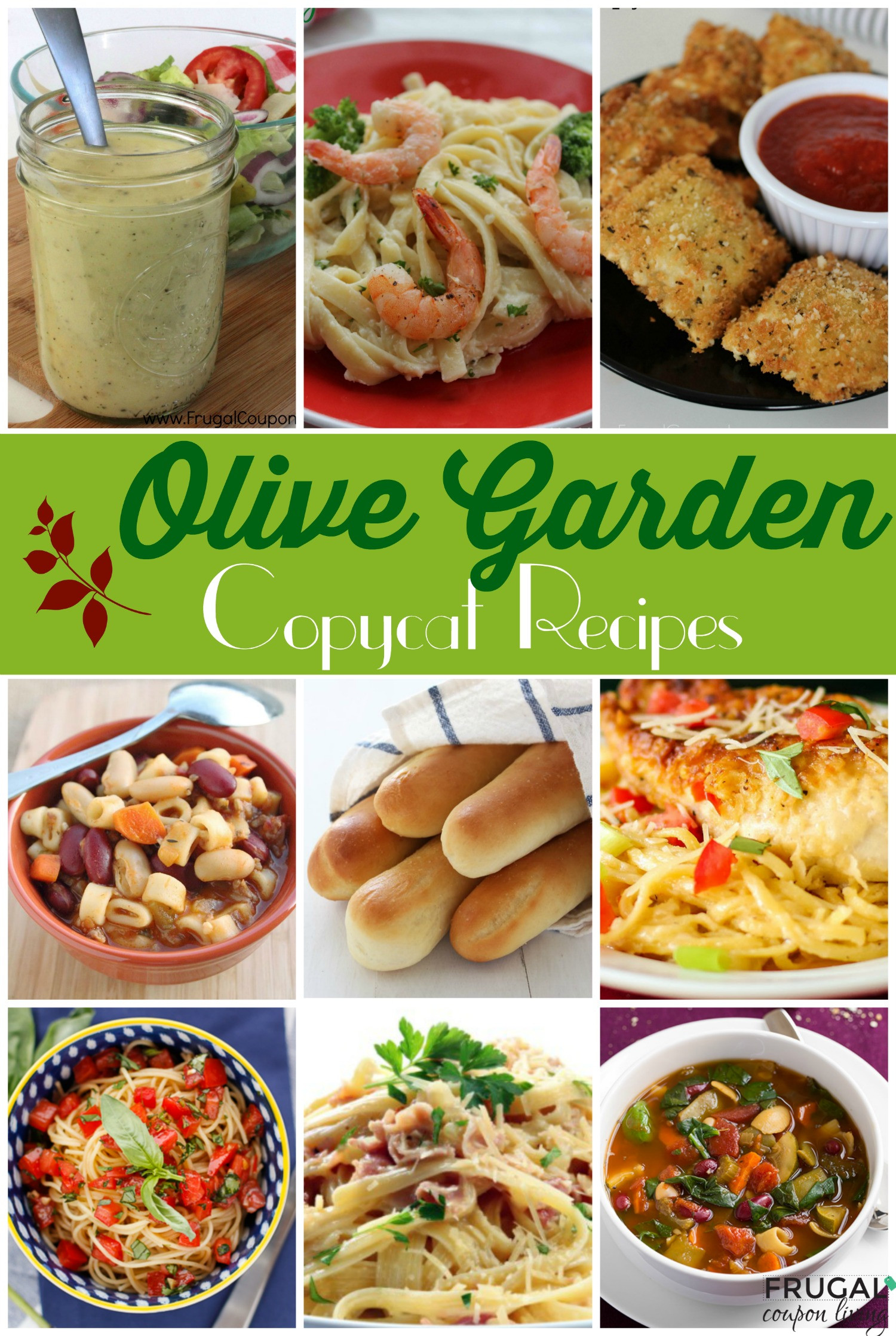 Olive Garden Thanksgiving  Make Your Favorite Meals at Home 25 Copycat Olive Garden