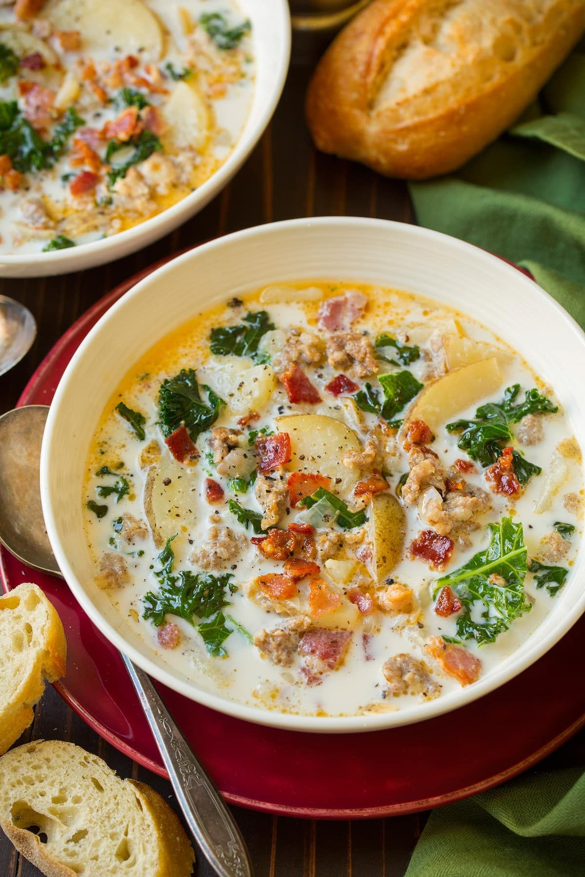 Olive Garden Thanksgiving  Zuppa Toscana Soup Soups and chilis in 2018