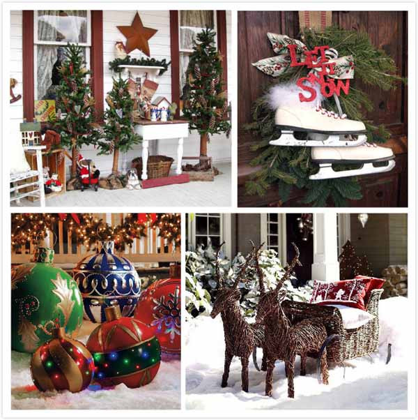 Outdoor Christmas Decorations On Sale  Top Outdoor Christmas Decorations Christmas Celebration