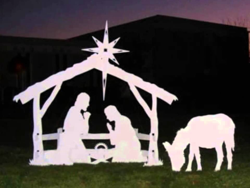 Outdoor Christmas Decorations On Sale  Outdoor Nativity Sets Price Info Outdoor Christmas