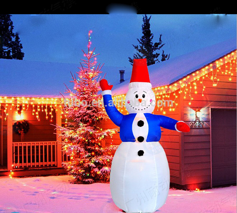 Outdoor Christmas Decorations On Sale  Hot Sale Inflatable Outdoor Christmas Snowman Decoration