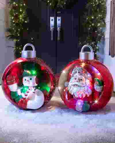 Outdoor Christmas Decorations On Sale  Outdoor Musical Grand Ornament