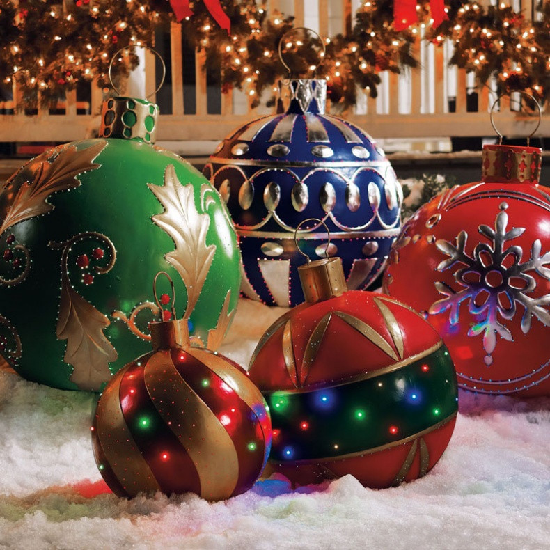 Outdoor Christmas Decorations Sale  photography Outdoor Lighted Ornaments