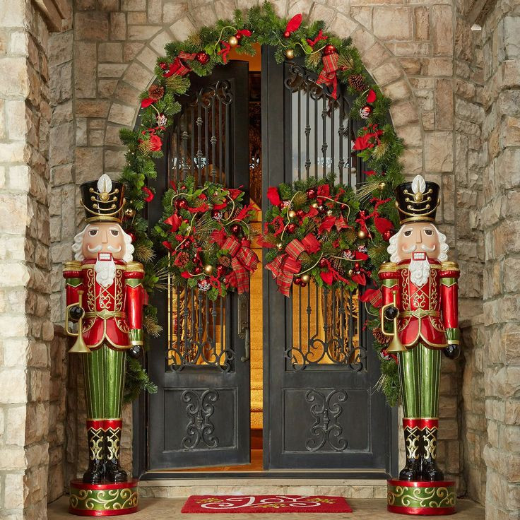 Outdoor Christmas Decorations Sale  Sam s Club Toy sol r nutcrackers 6 feet tall