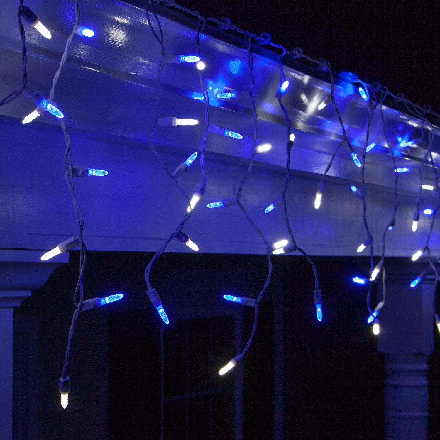 Outdoor Christmas Icicle Lights  300 LED Multi Function Indoor Outdoor Christmas Lights