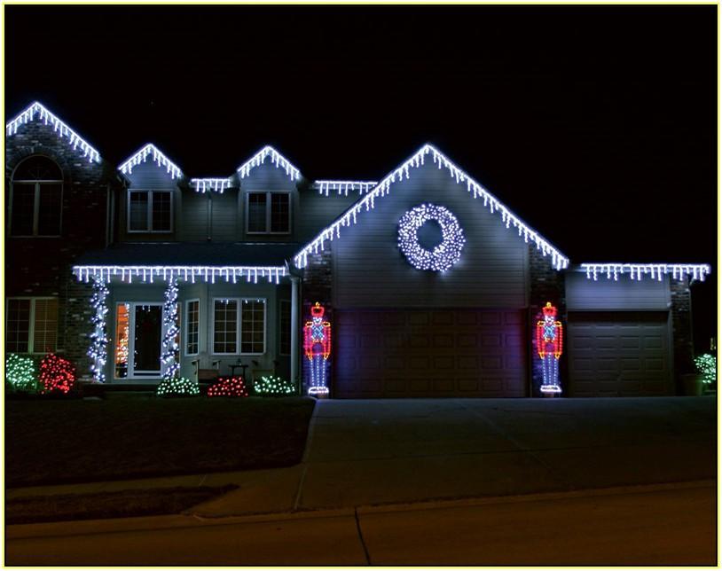 Outdoor Christmas Icicle Lights  Christmas lights icicle outdoor