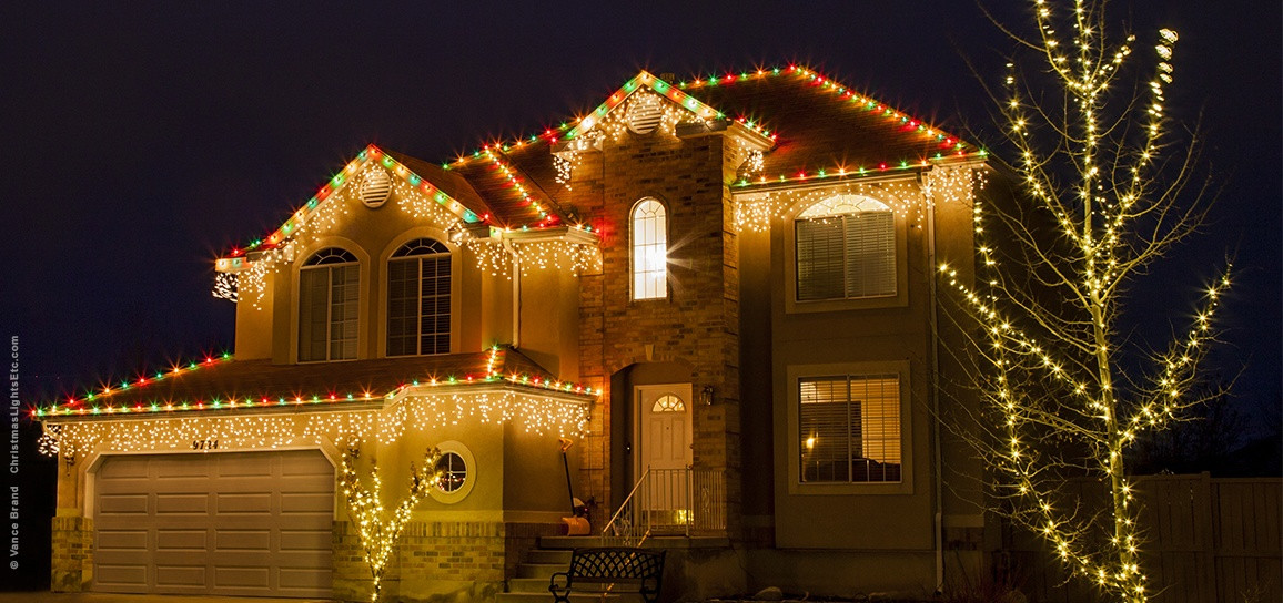 Outdoor Christmas Icicle Lights  Outdoor Christmas Lights Ideas For The Roof