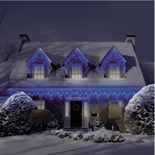 Outdoor Christmas Icicle Lights  Enhance your creativity 15 magnificent Icicle christmas