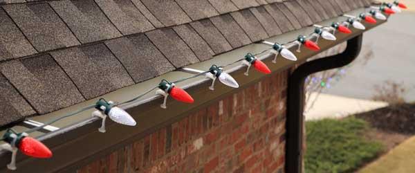 Outdoor Christmas Light Hooks  How to Hang Christmas Lights Safely
