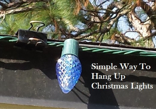 Outdoor Christmas Light Hooks  10 Christmas Decoration Hanging Hacks How to Hang Your