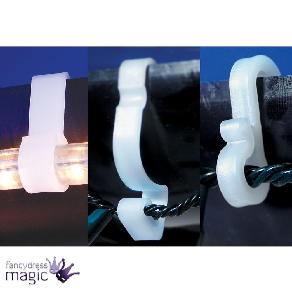 Outdoor Christmas Light Hooks  Gutter Hooks Clips Outdoor Christmas Xmas Icicle Rope