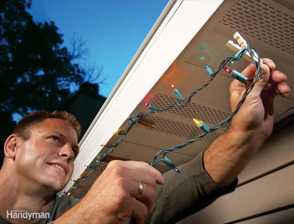 Outdoor Christmas Light Hooks  9 Handy Holiday Decorating Tips