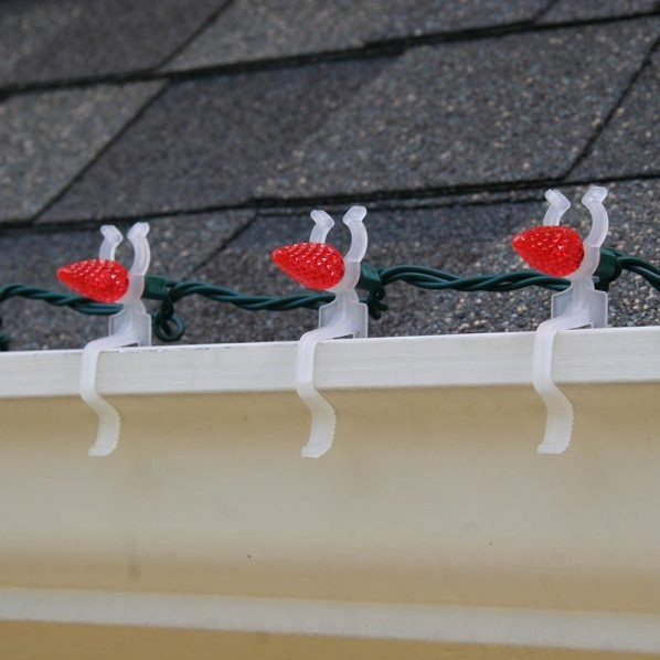 Outdoor Christmas Light Hooks  2019 Best of Hanging Outdoor Christmas Lights Hooks