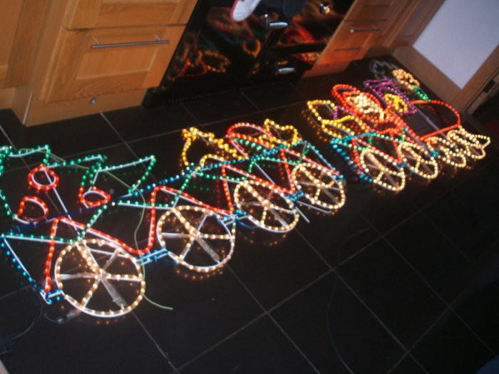 Outdoor Christmas Lights Sales  Santa Train Outdoor Christmas Lights For Sale in Bunclody