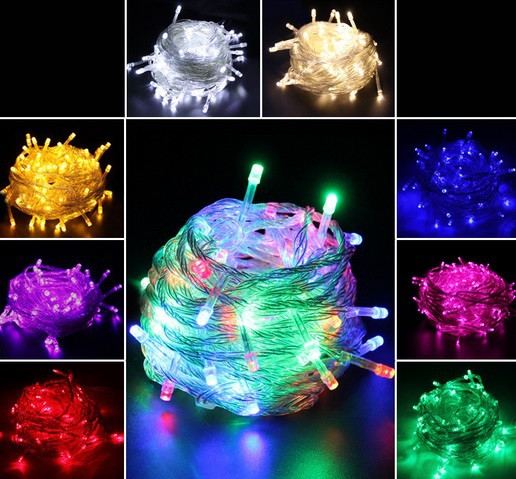 Outdoor Christmas Lights Sales  China Supplier Hot Sale 10M 100 LED String Outdoor