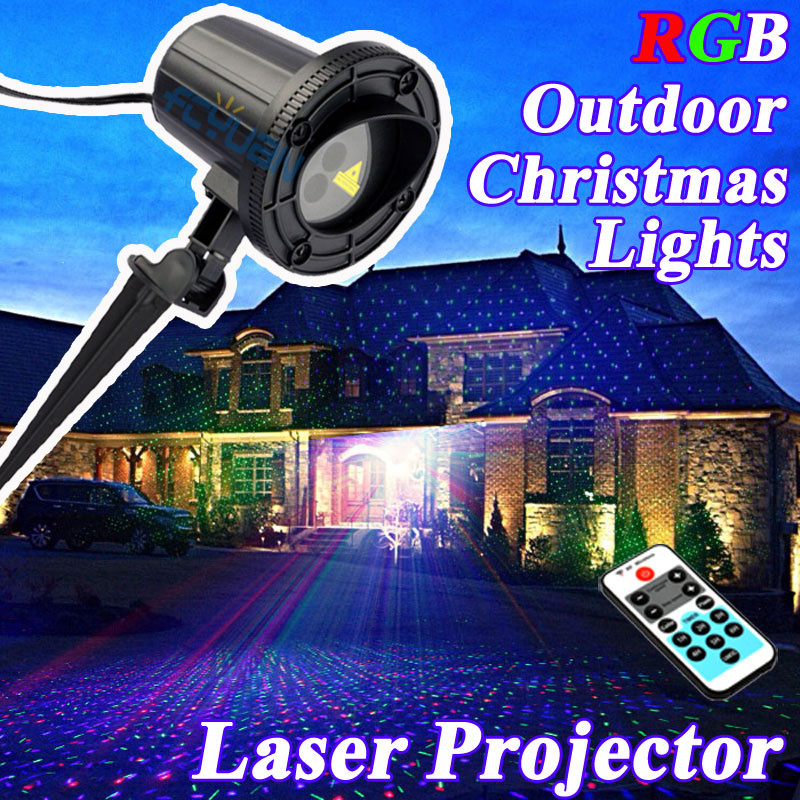 Outdoor Christmas Lights Sales  Whole sale 2016 RGB Christmas Lights Outdoor Shower Laser