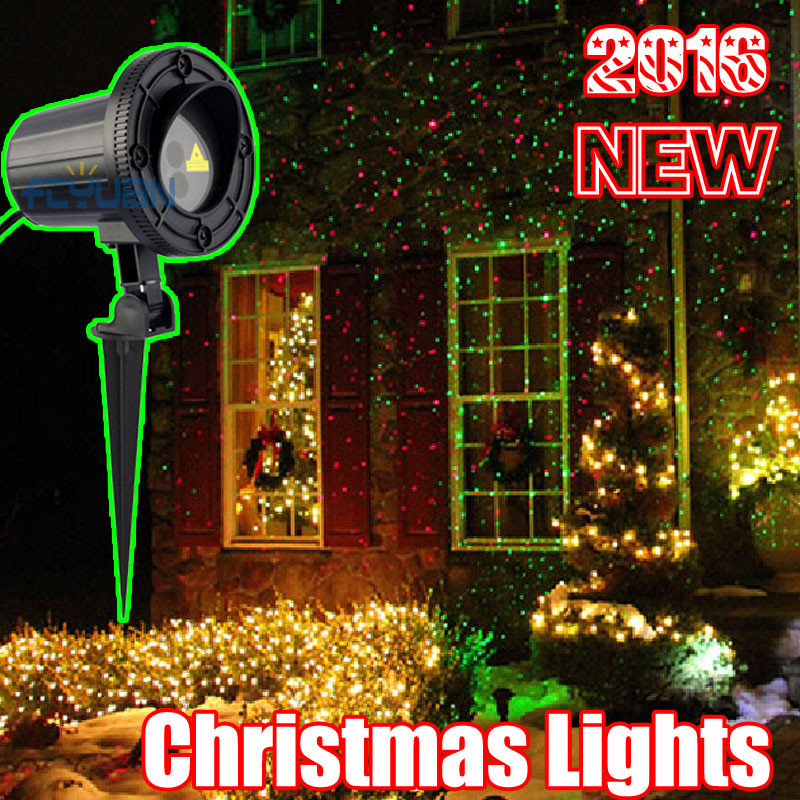 Outdoor Christmas Lights Sales  Aliexpress Buy Outdoor Christmas Laser Projector