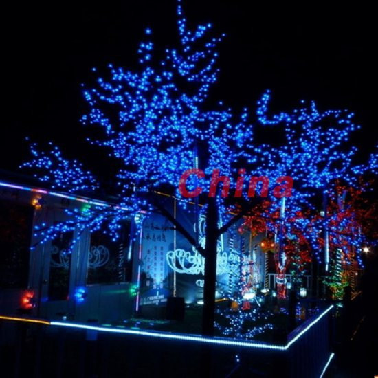 Outdoor Christmas Lights Sales  Free shipping 60 LED Solar String Christmas Lights