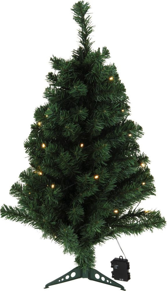 Outdoor Christmas Lights Timers  90cm Christmas Tree with LED Lights with Timer Indoor or