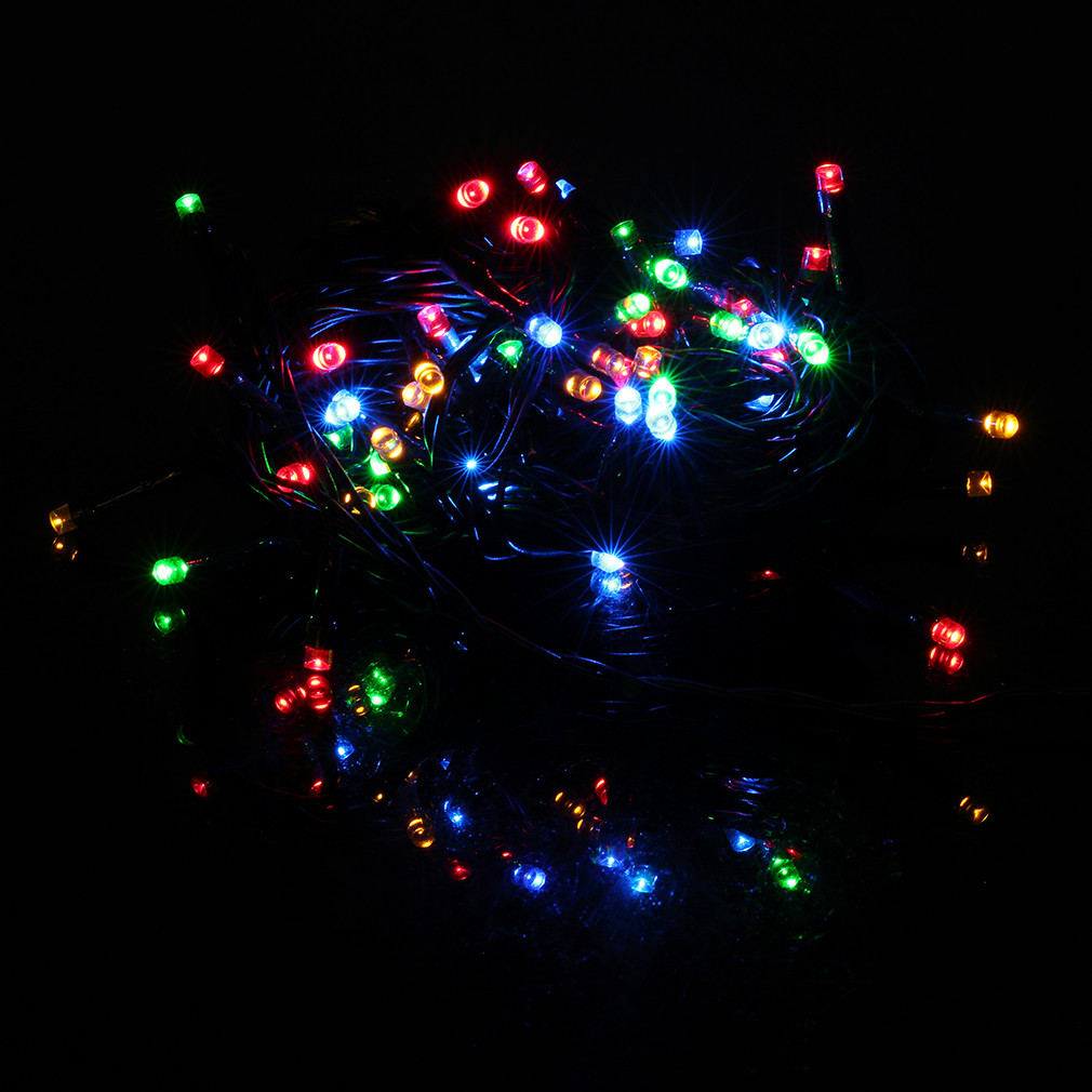 Outdoor Christmas Lights Timers  10m 72 LED Christmas Xmas Lights Outdoor String Light