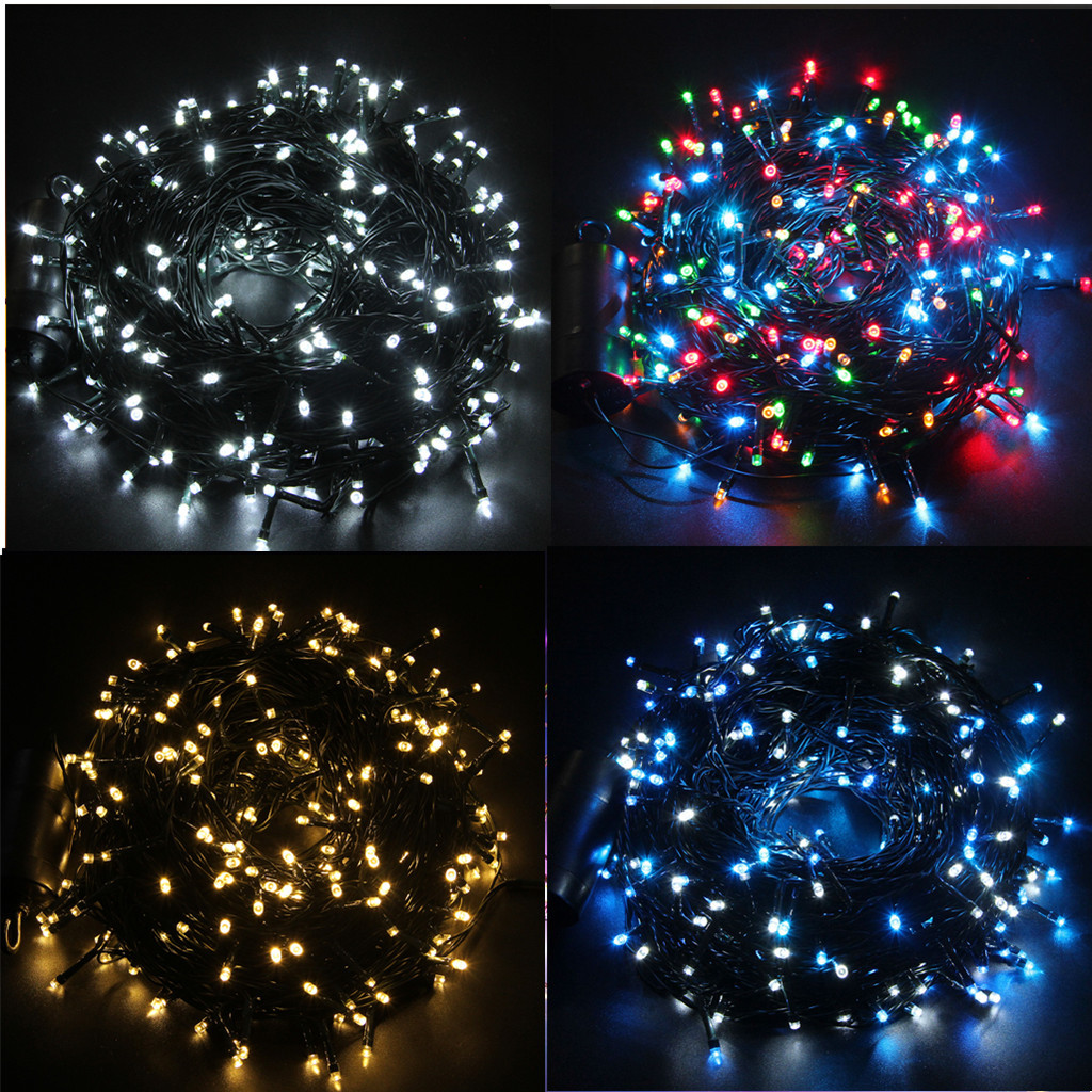 Outdoor Christmas Lights Timers  72 300 LED Christmas Xmas Outdoor Indoor String Light
