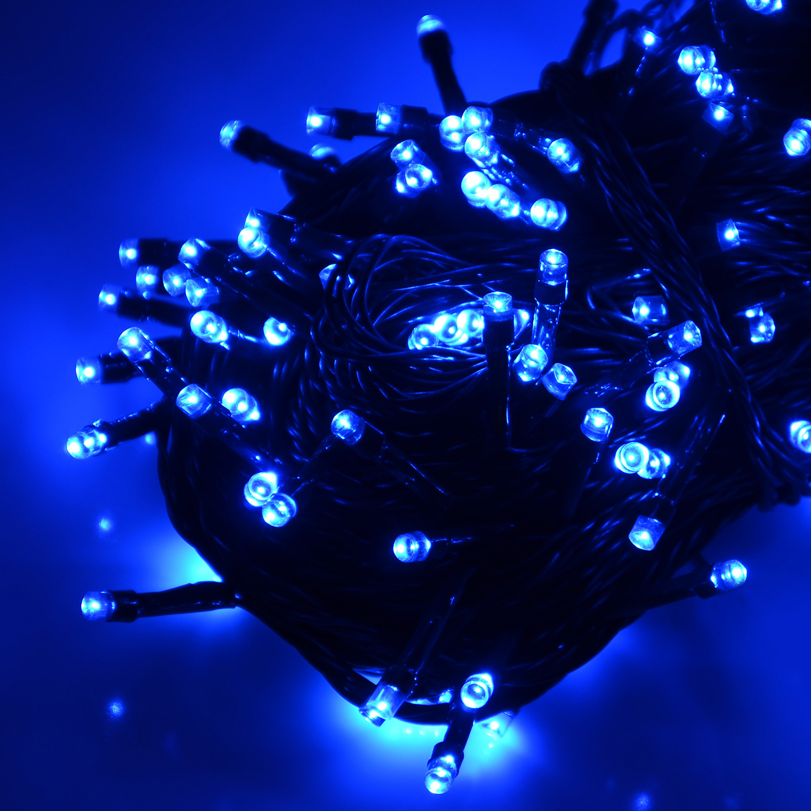 Outdoor Christmas Lights Timers  Battery Operated Chasing LED Lights String With Timer