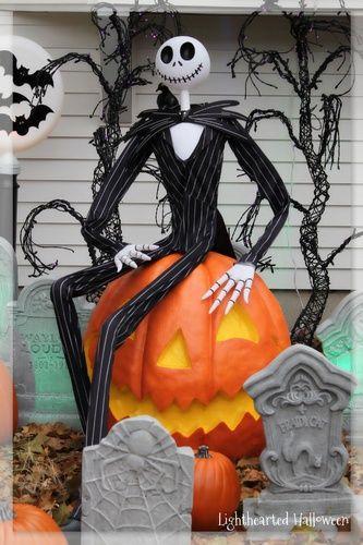 Outdoor Halloween Decorations On Sale  25 best ideas about Halloween yard displays on Pinterest
