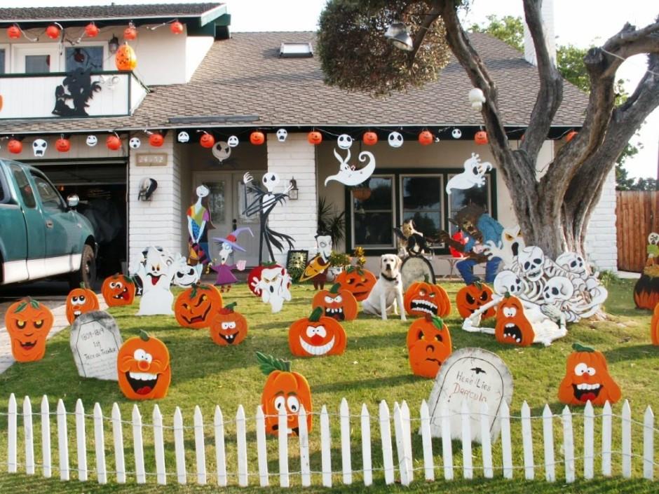 Outdoor Halloween Decorations On Sale  48 CREEPY OUTDOOR HALLOWEEN DECORATION IDEAS
