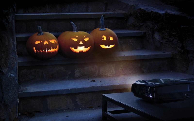 Outdoor Halloween Projector  Re mended Projectors For Halloween