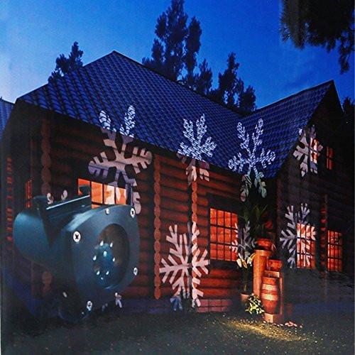 Outdoor Halloween Projector  Projector Lights 12 Pattern Gobos Garden Lamp Lighting